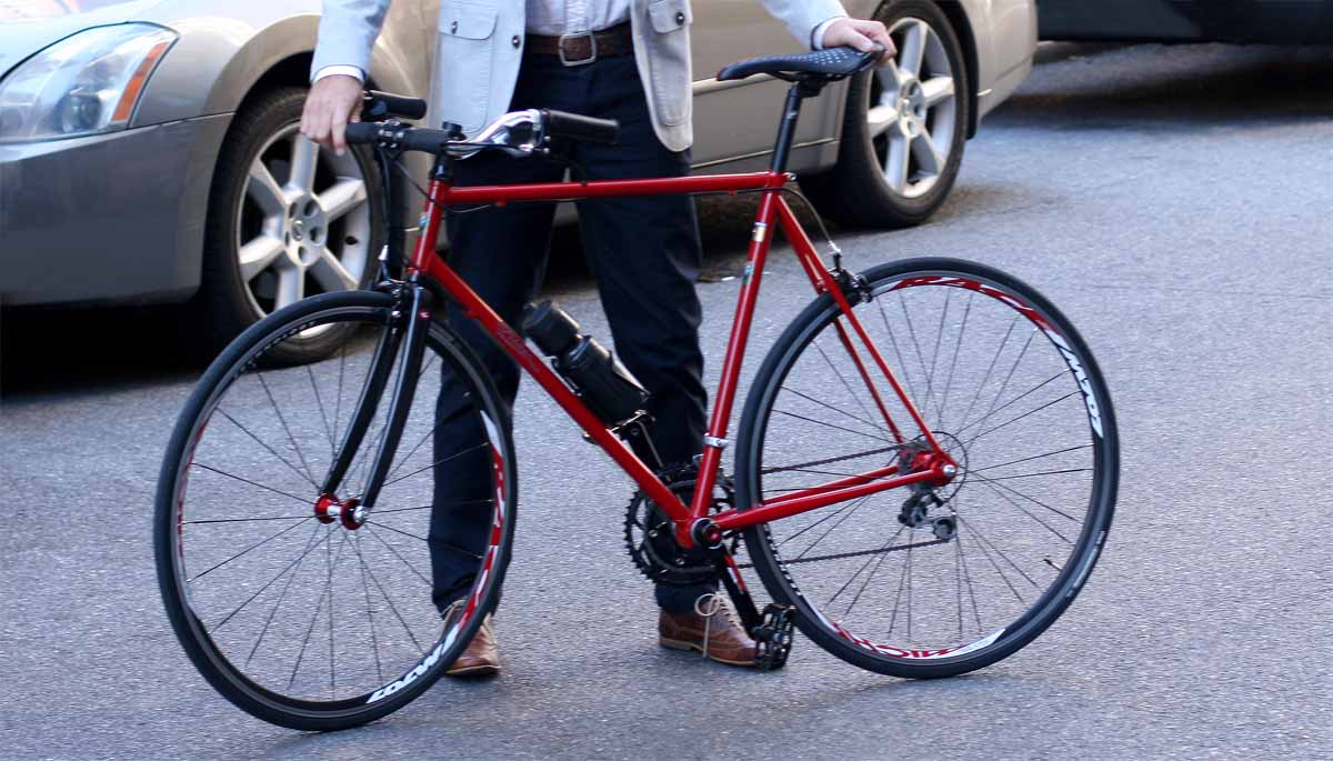 Choose a standard bicycle frame size or get custom geometry. Both ...